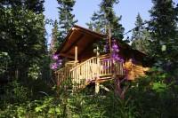 Ein Hauch von Jack London: In komfortablen Blockhütten lässt sich die Abgeschiedenheit genießen.