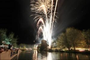 Traditionelles Lichterfest in Bad Rappenau: Der Kurparksee leuchtet wieder