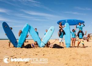 Wavetours Surfcamp Vieux Boucau frankreich
